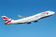 G-CIVS - British Airways Boeing 747-400 aircraft