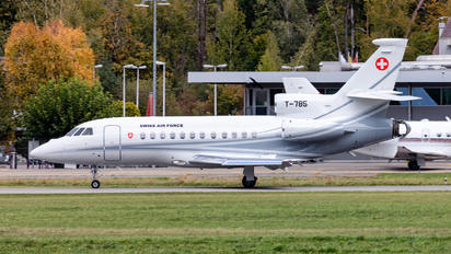 T-785 - Switzerland - Air Force Dassault Falcon 900 series