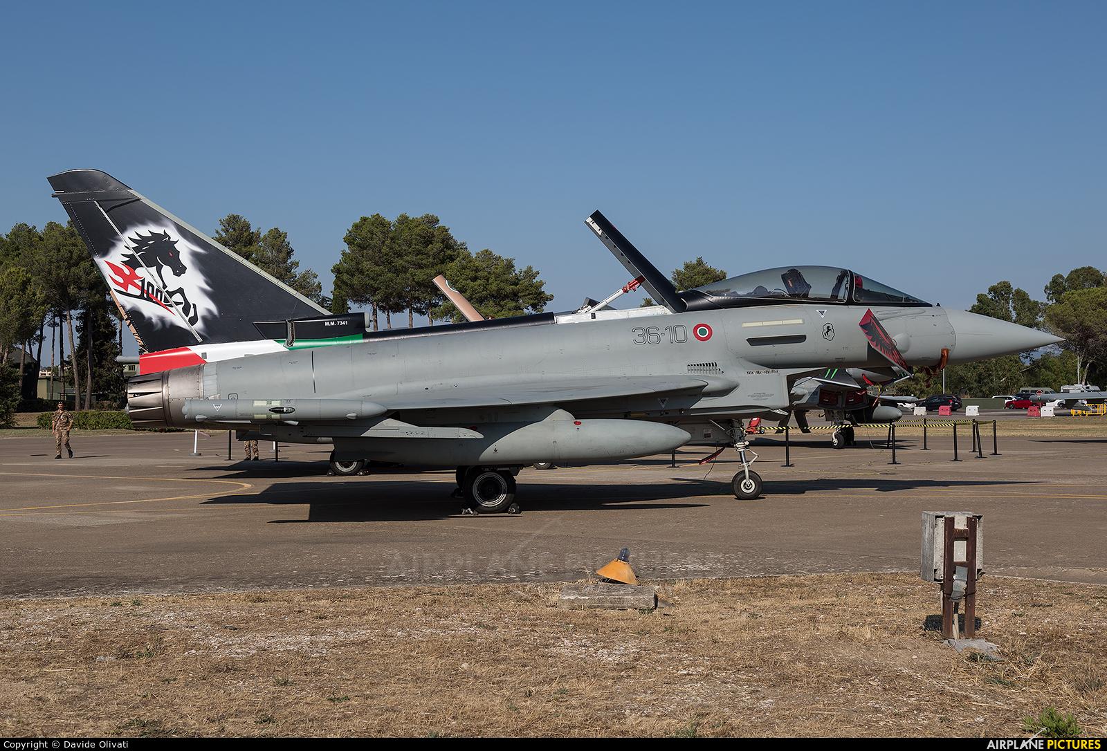 Italy - Air Force MM7341 aircraft at Grosseto - Corrado Baccarini