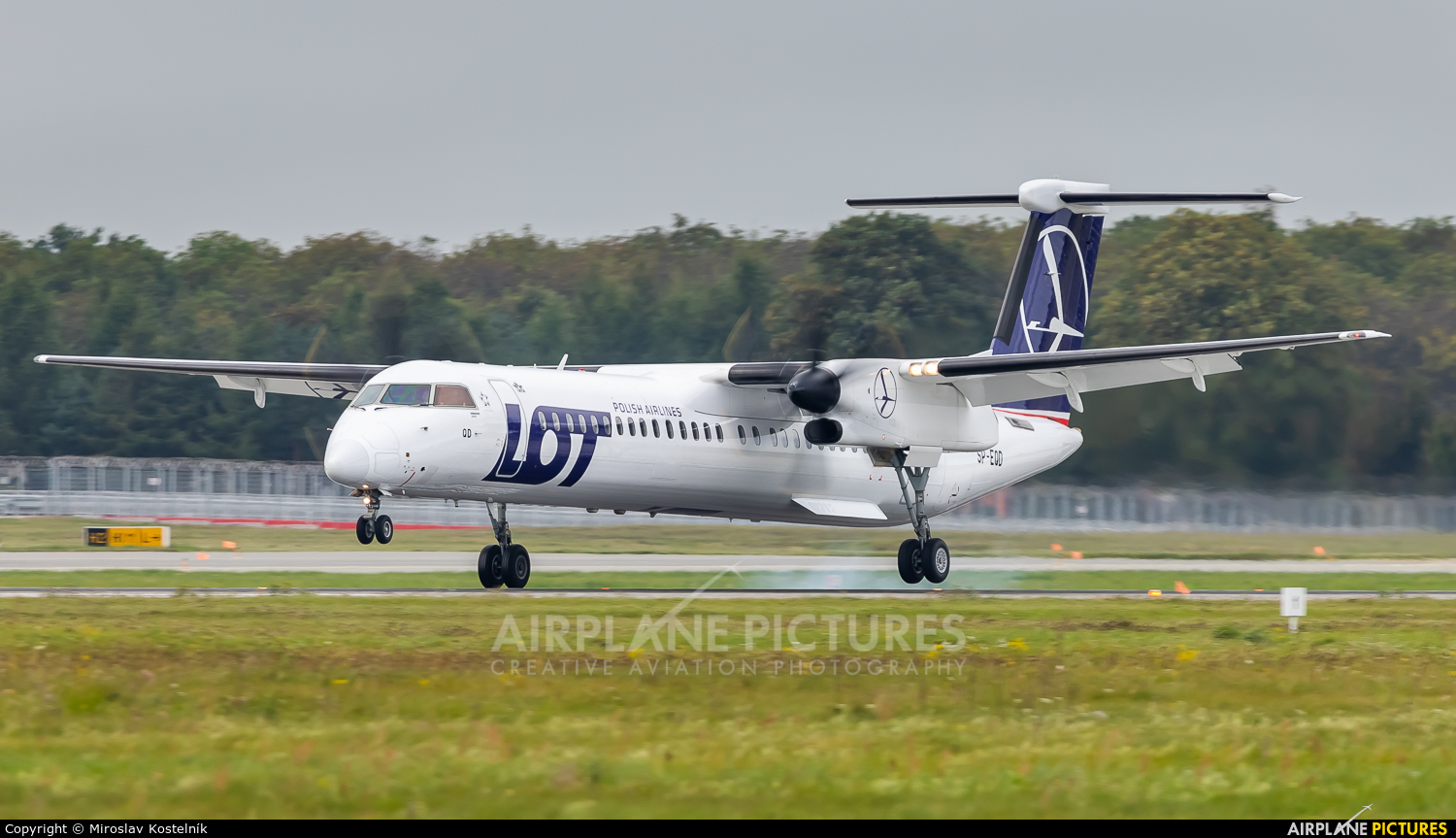 LOT - Polish Airlines SP-EQD aircraft at Katowice - Pyrzowice