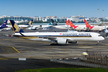 9V-SHL - Singapore Airlines Airbus A350-900