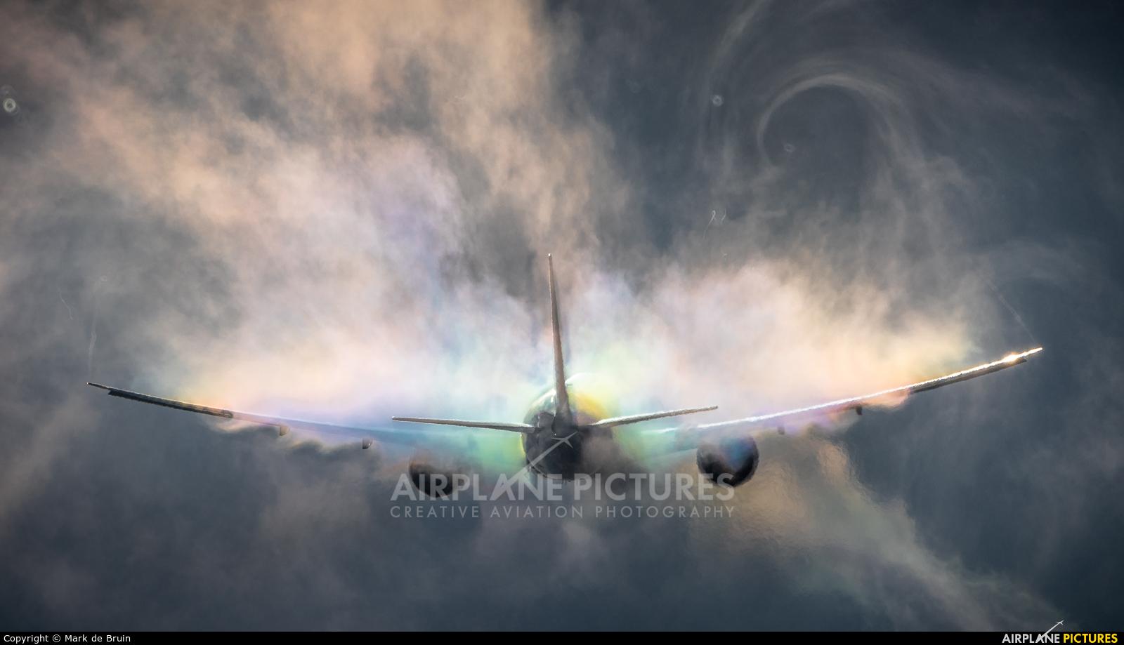 Emirates Sky Cargo A6-EFN aircraft at Amsterdam - Schiphol