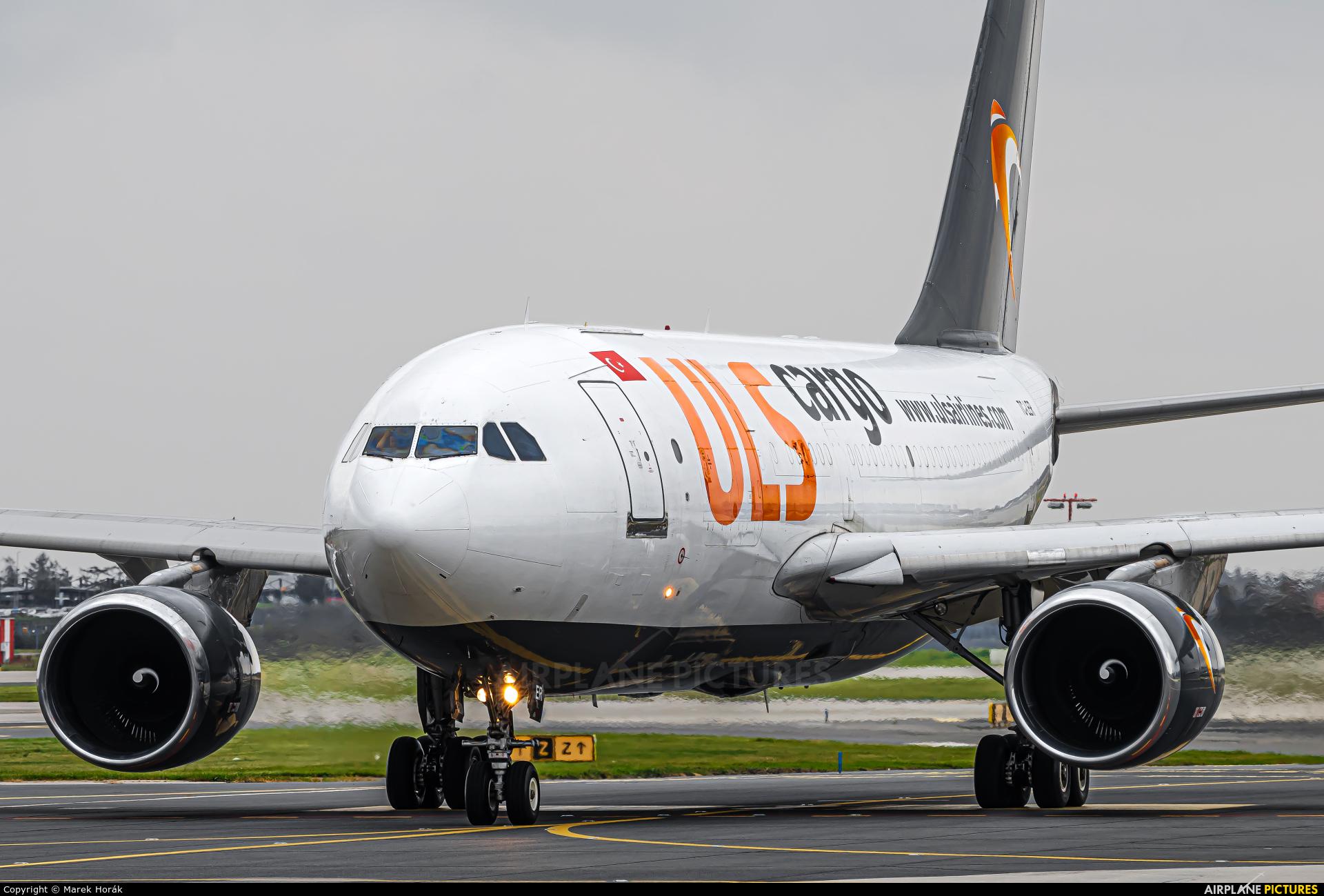 ULS Cargo TC-LER aircraft at Prague - Václav Havel