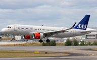 SE-ROE - SAS - Scandinavian Airlines Airbus A320 NEO aircraft
