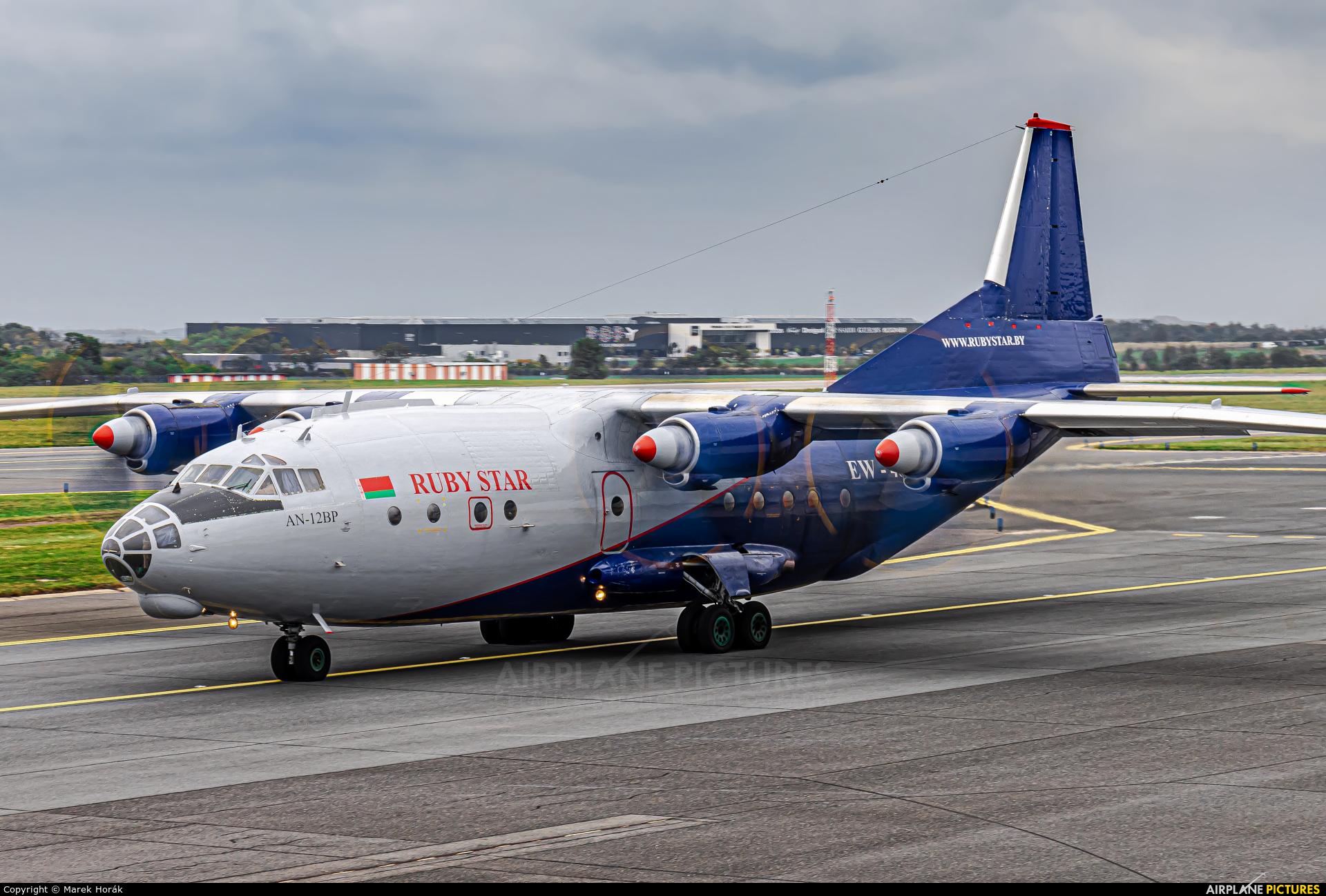Ruby Star Air Enterprise EW-485TI aircraft at Prague - Václav Havel
