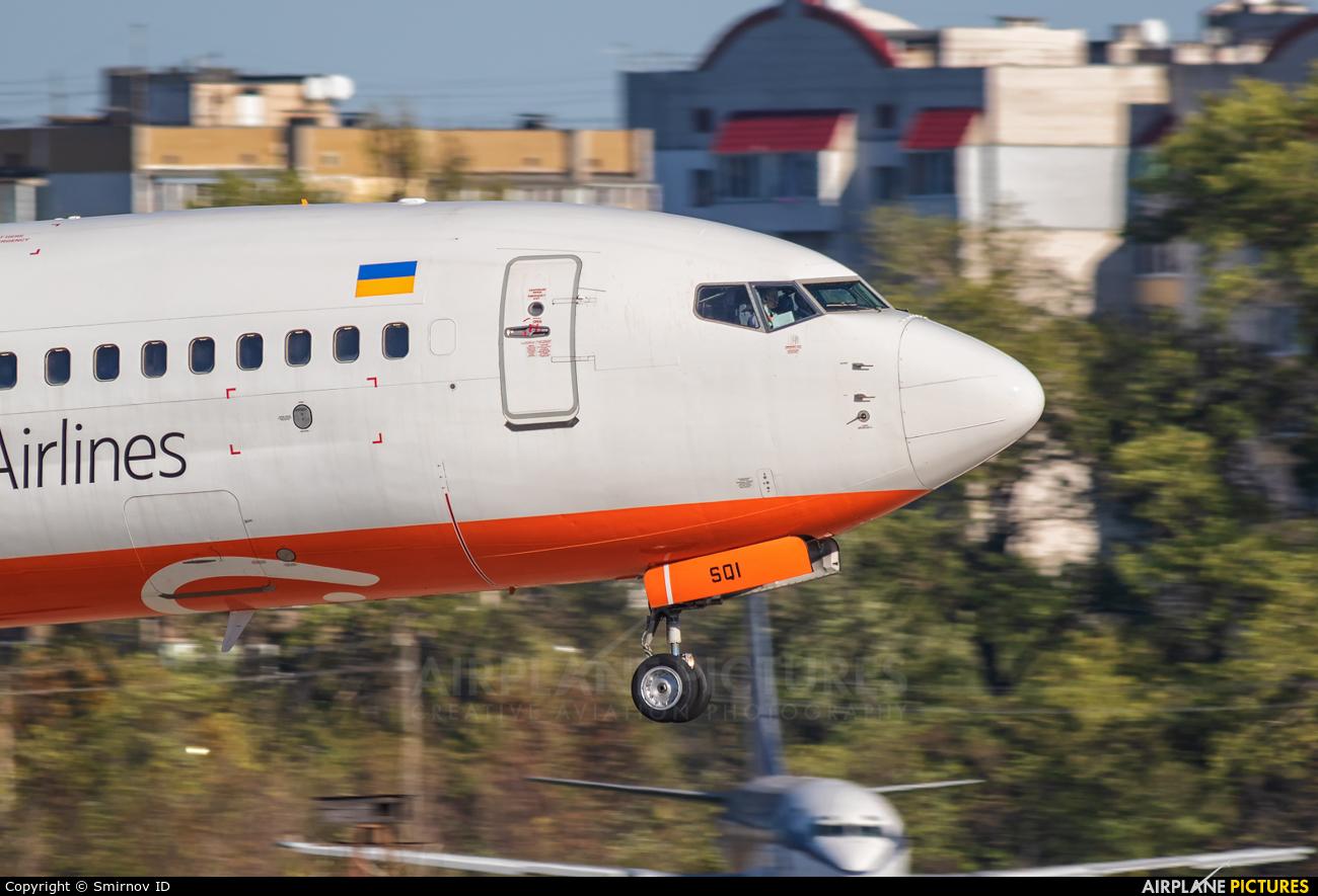 SkyUp Airlines UR-SQI aircraft at Kyiv - Borispol