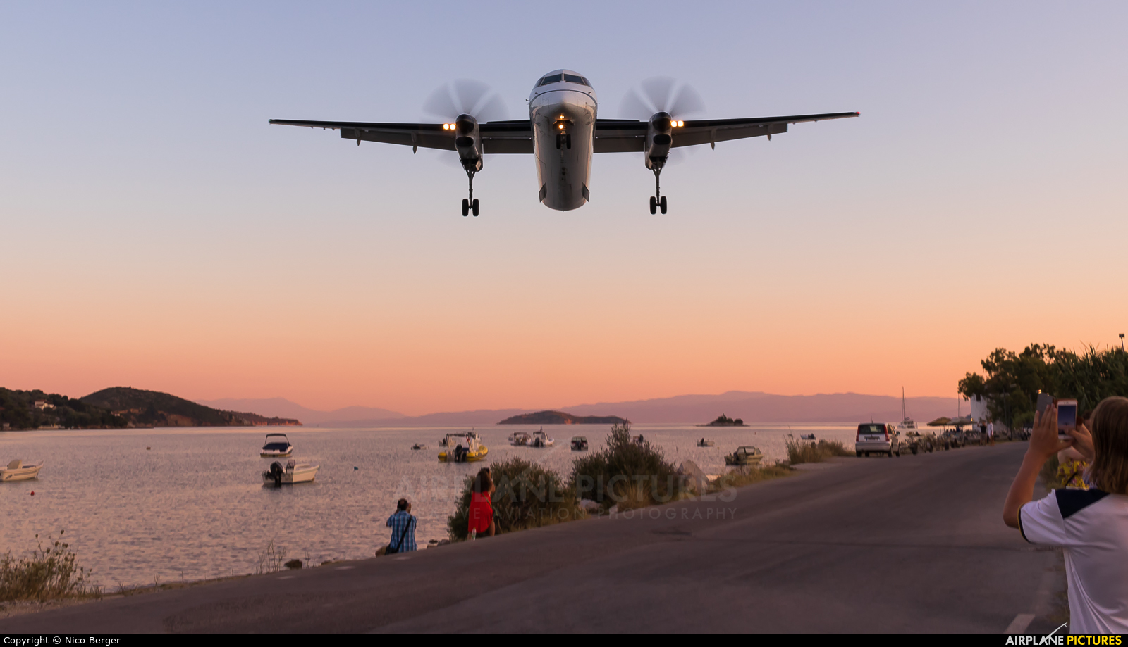 Olympic Airlines SX-OBF aircraft at Skiathos