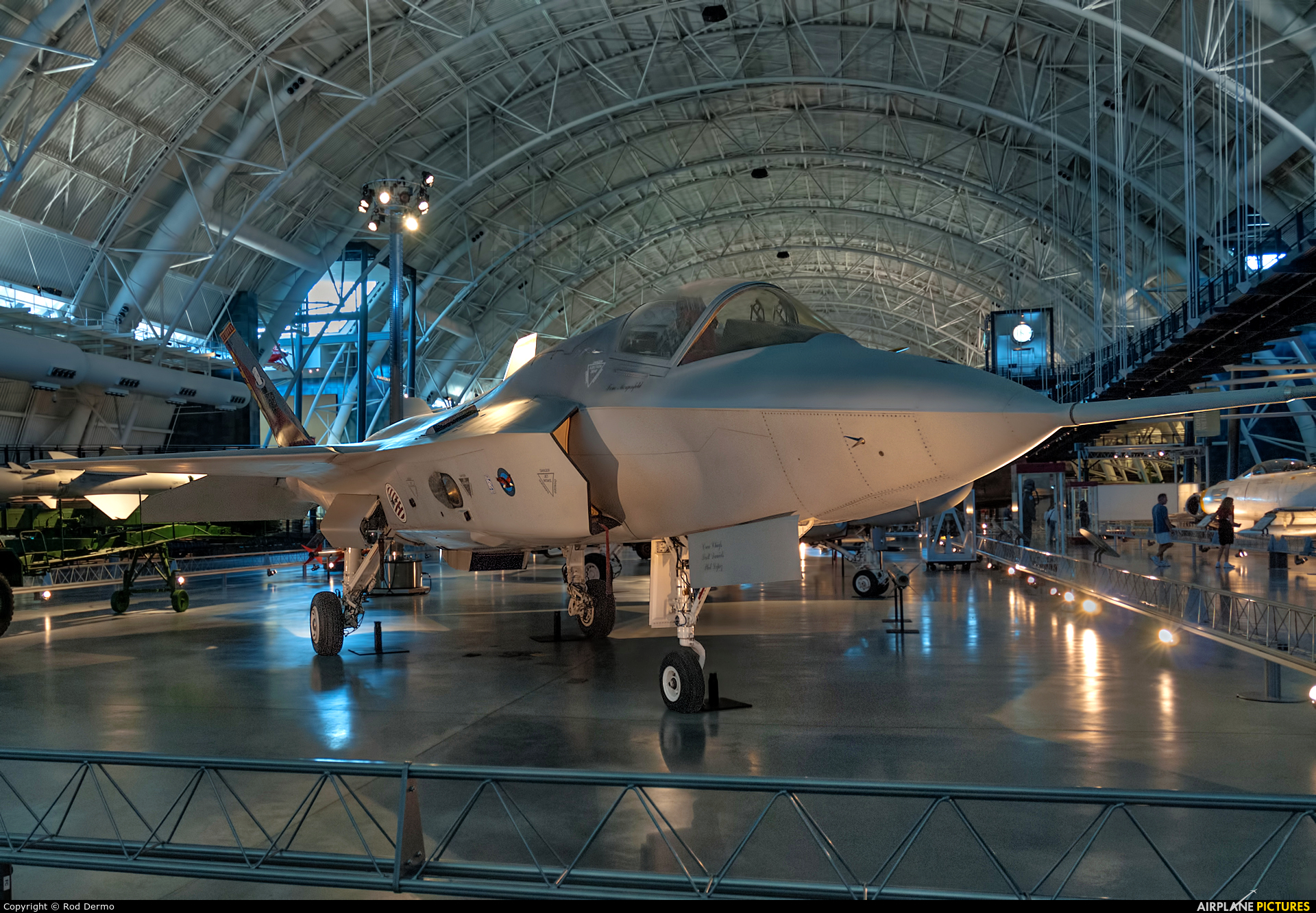 USA - Air Force 301 aircraft at Steven F. Udvar-Hazy Center
