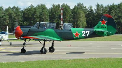 EW-127AM - Belarus - DOSAAF Yakovlev Yak-52