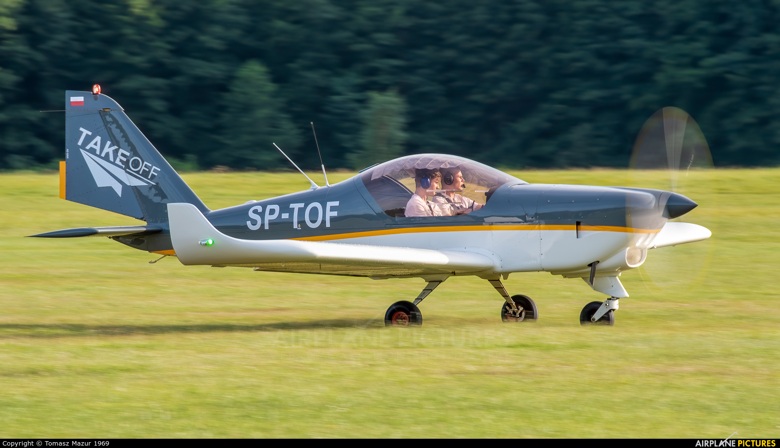 Private SP-TOF aircraft at Rybnik - Gotartowice