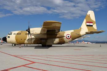 SU-BAR - Egypt - Air Force Lockheed AC-130H Hercules