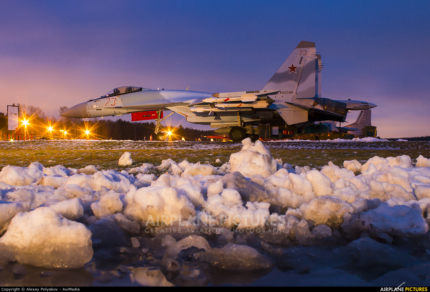 Russia - Air Force 73 aircraft at Undisclosed Location