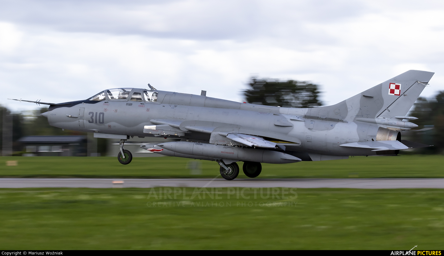 Poland - Air Force 310 aircraft at Malbork
