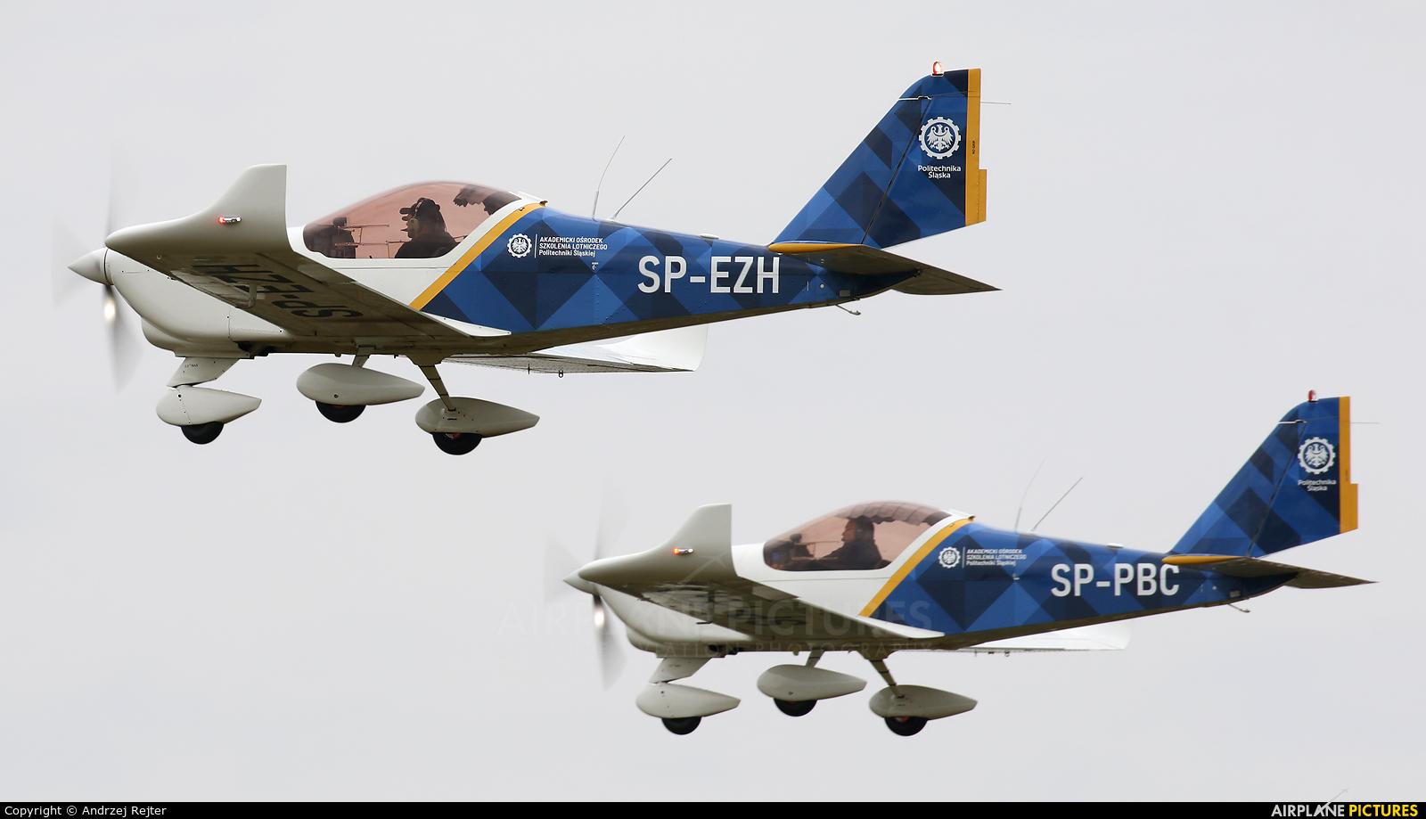 Private SP-EZH aircraft at Piotrków Trybunalski