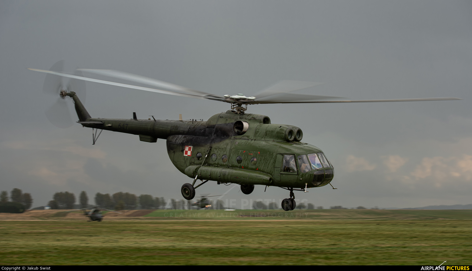 Poland - Army 647 aircraft at Nowy Targ Airport