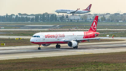 TC-ATY - Atlasglobal Airbus A321