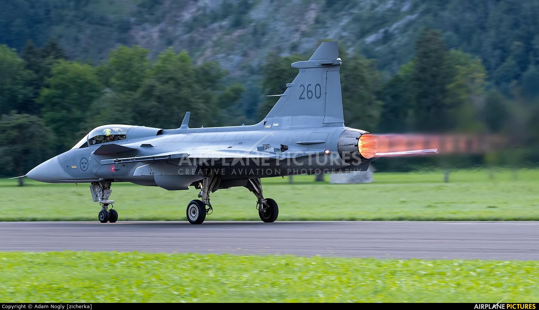 Sweden - Air Force 260 aircraft at Mollis