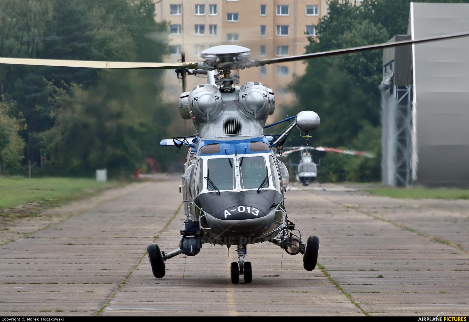 Poland - Police SN-32XP aircraft at Warsaw - Babice