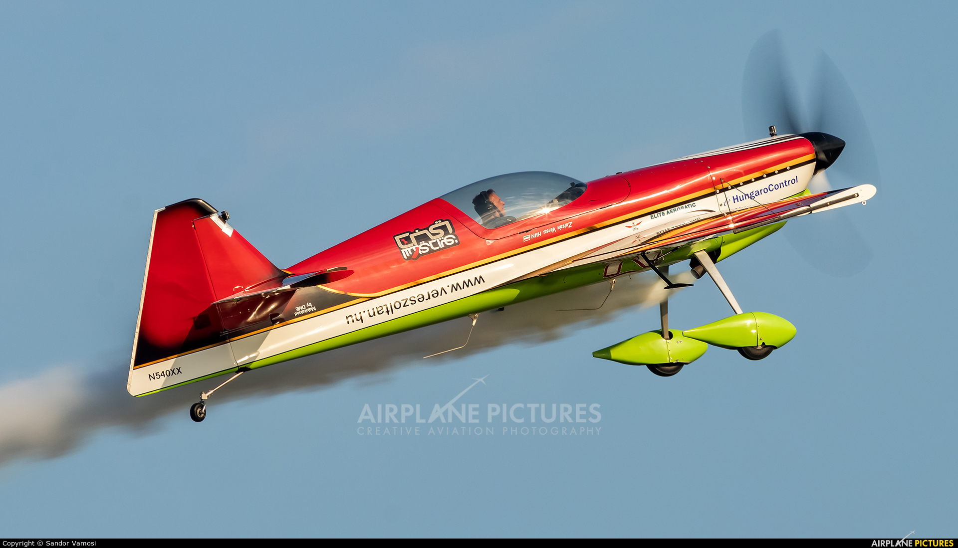 Private N540XX aircraft at Off Airport - Hungary