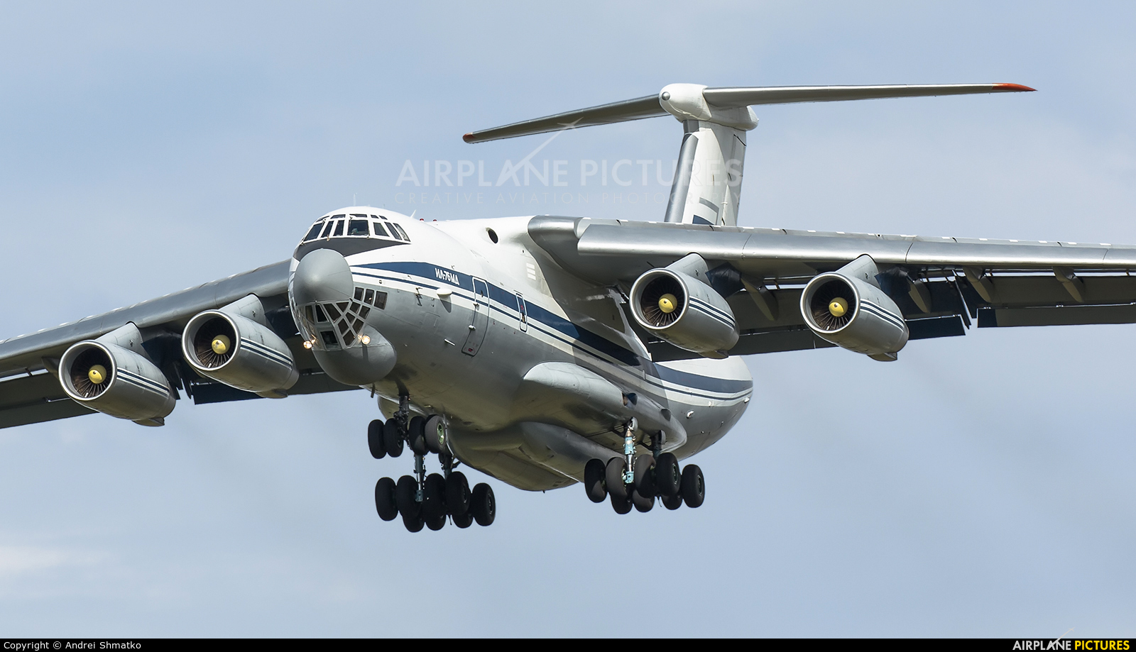 Russia - Air Force RA-78835 aircraft at Dyagilevo