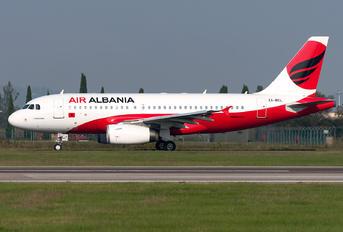 ZA-BEL - Air Albania Airbus A319