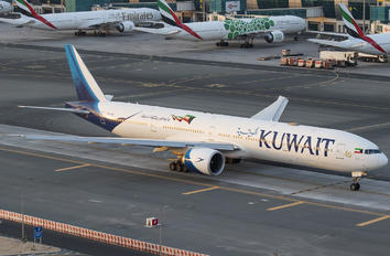 9K-AOD - Kuwait Airways Boeing 777-300ER