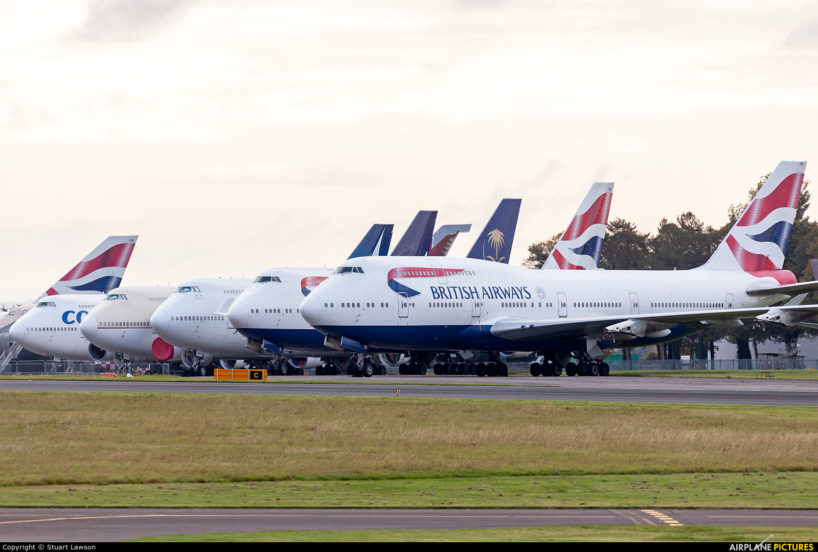 British Airways G-CIVO aircraft at Kemble