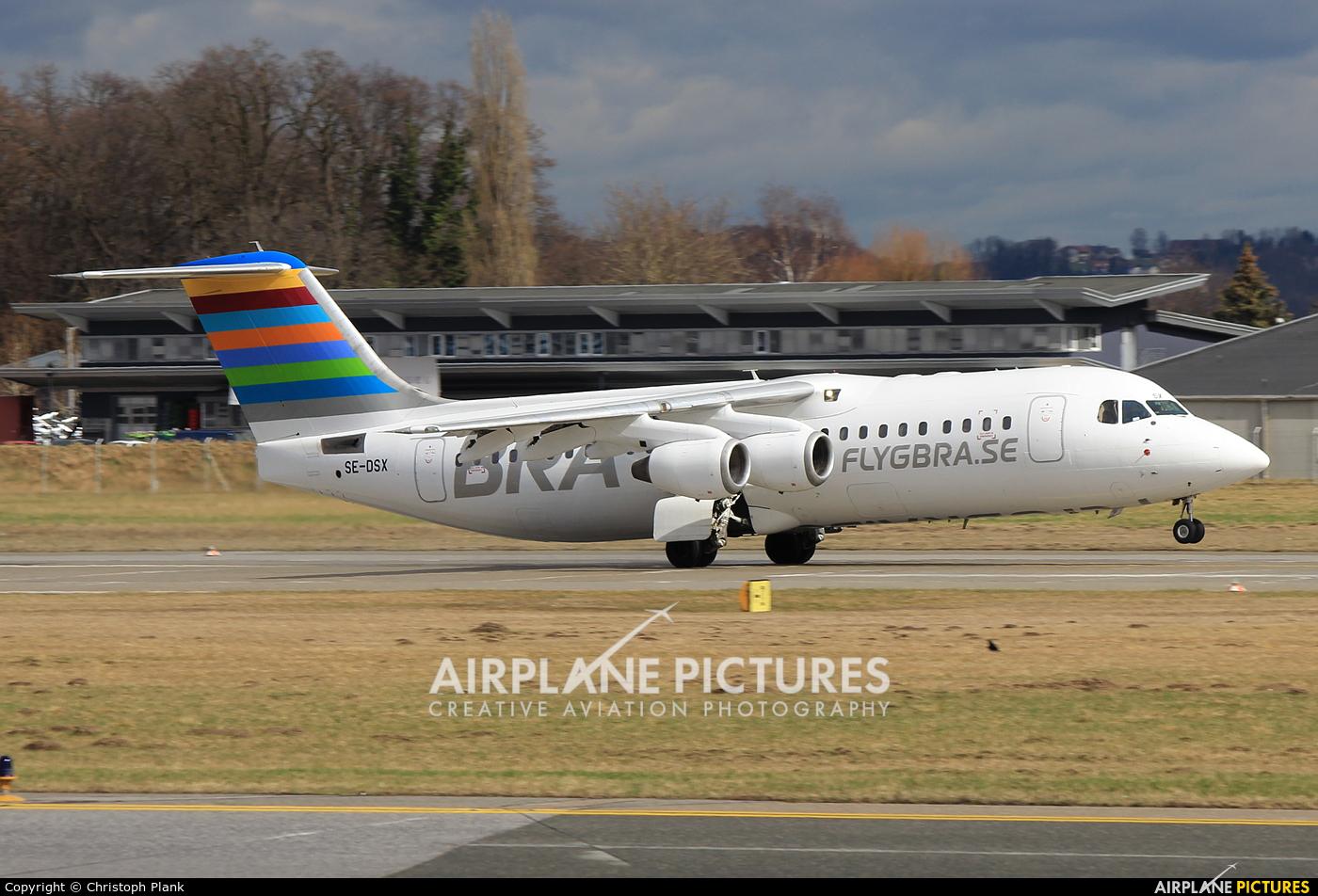 BRA (Sweden) SE-DSX aircraft at Salzburg