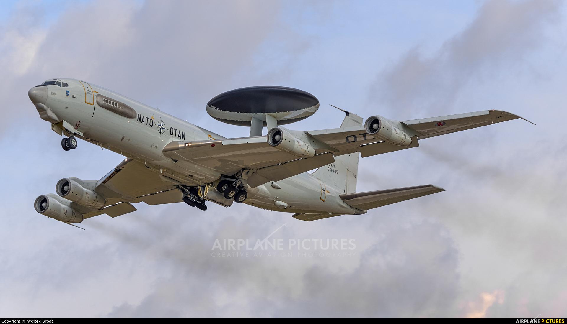 NATO LX-N90445 aircraft at Pardubice