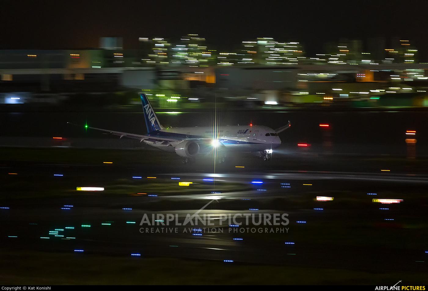 ANA - All Nippon Airways JA890A aircraft at Tokyo - Haneda Intl