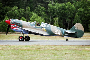 F-AZPJ - Private Curtiss P-40M Warhawk
