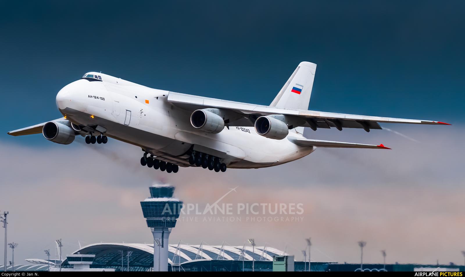 Volga Dnepr Airlines RA-82042 aircraft at Munich