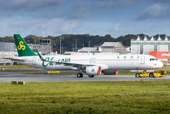 D-AVXL - Spring Airlines Airbus A321 NEO
