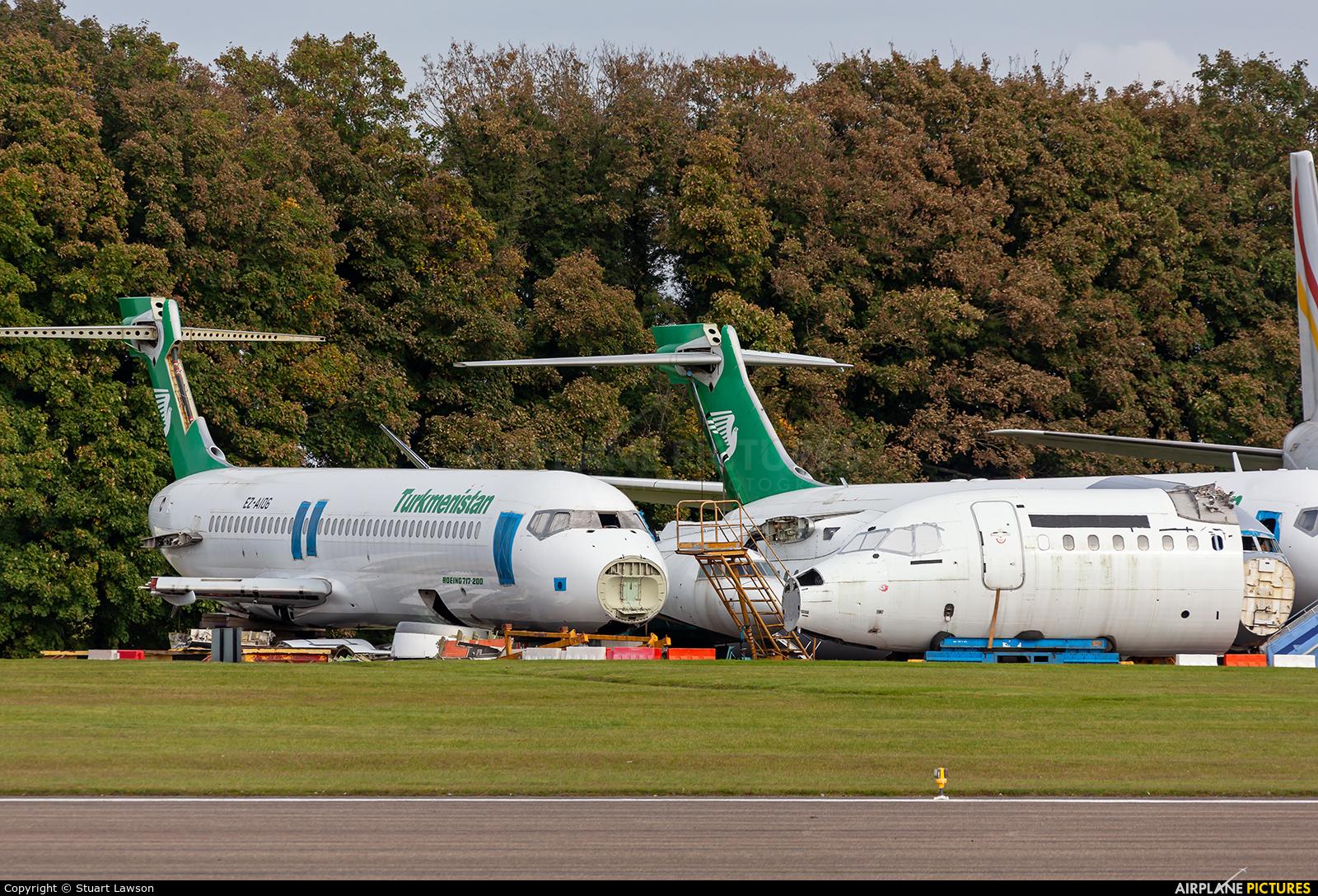 Turkmenistan Airlines EZ-A106 aircraft at Kemble