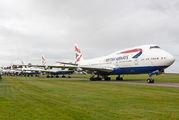 G-BYGB - British Airways Boeing 747-400 aircraft