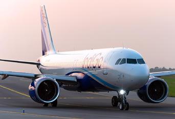 VT-IVZ - IndiGo Airbus A320 NEO
