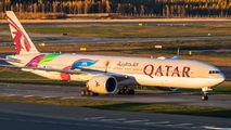 A7-BAX - Qatar Airways Boeing 777-300ER aircraft