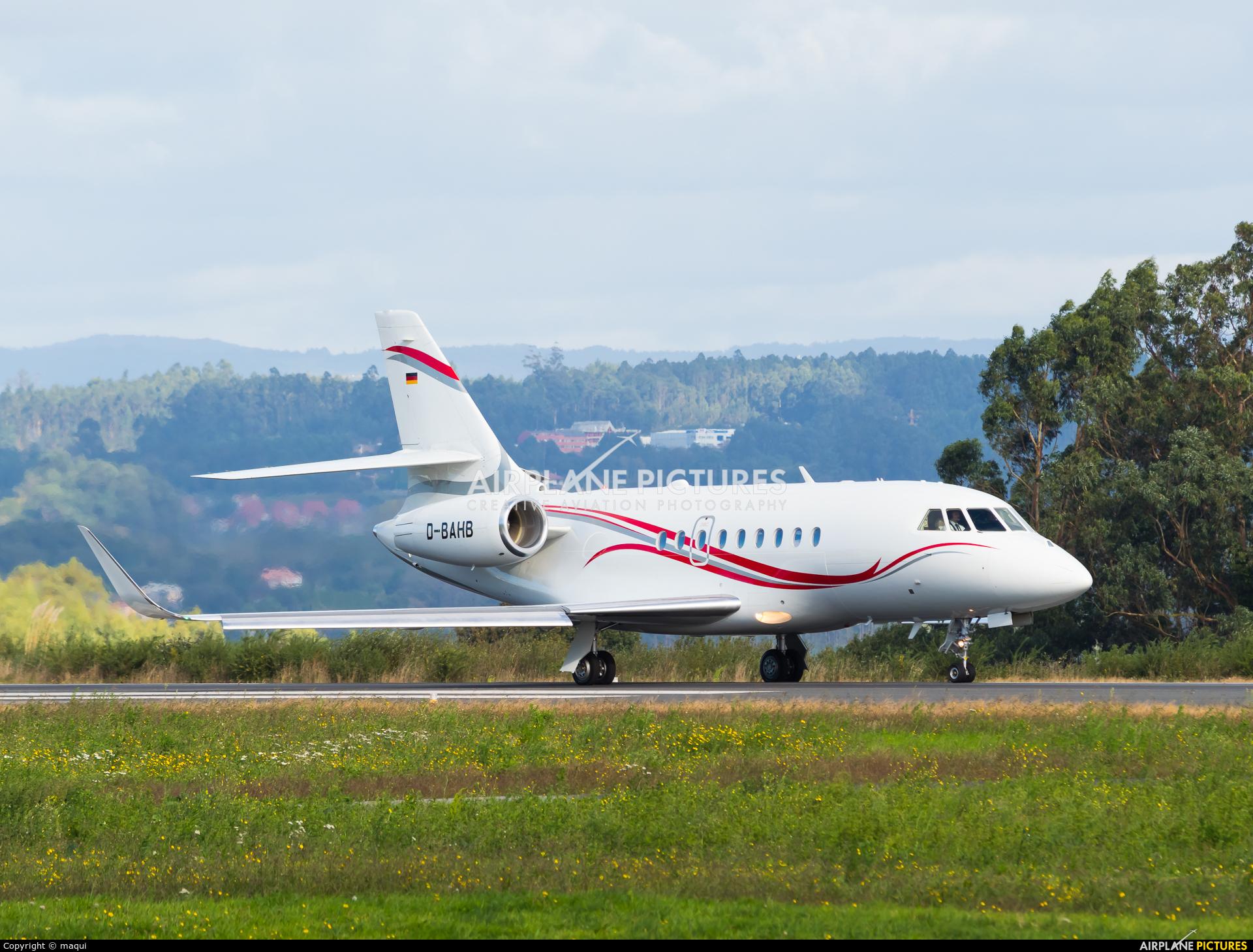 MHS Aviation D-BAHB aircraft at La Coruña