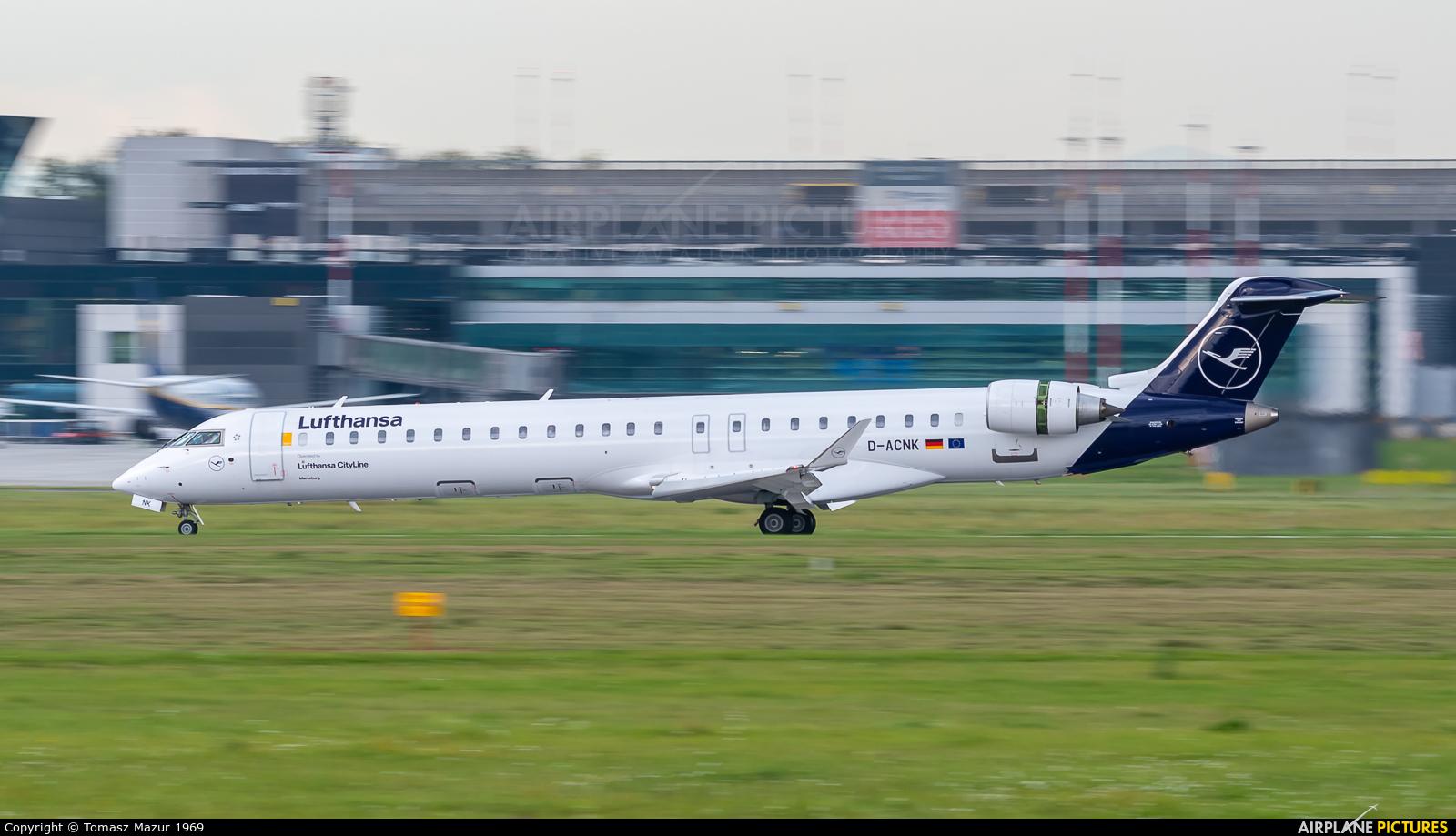 Lufthansa Regional - CityLine D-ACNK aircraft at Kraków - John Paul II Intl