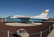 NASA810 - NASA Vought TF-8A Crusader aircraft