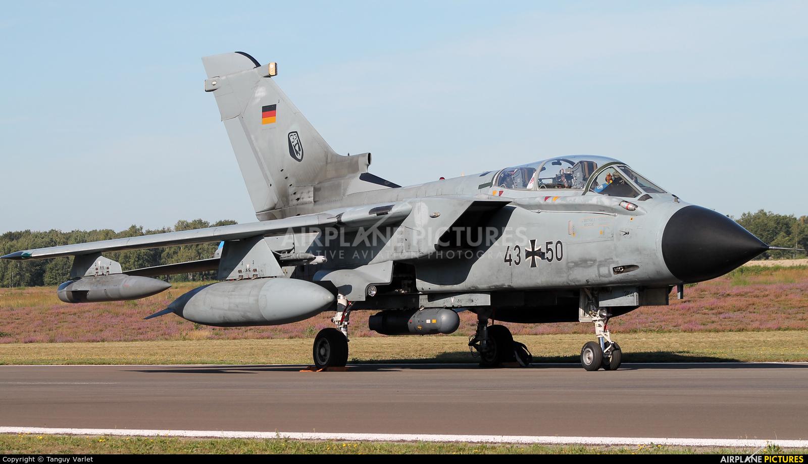 Germany - Air Force 43+50 aircraft at Kleine Brogel