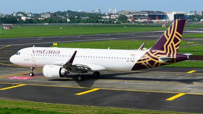 VT-TNV - Vistara Airbus A320 NEO
