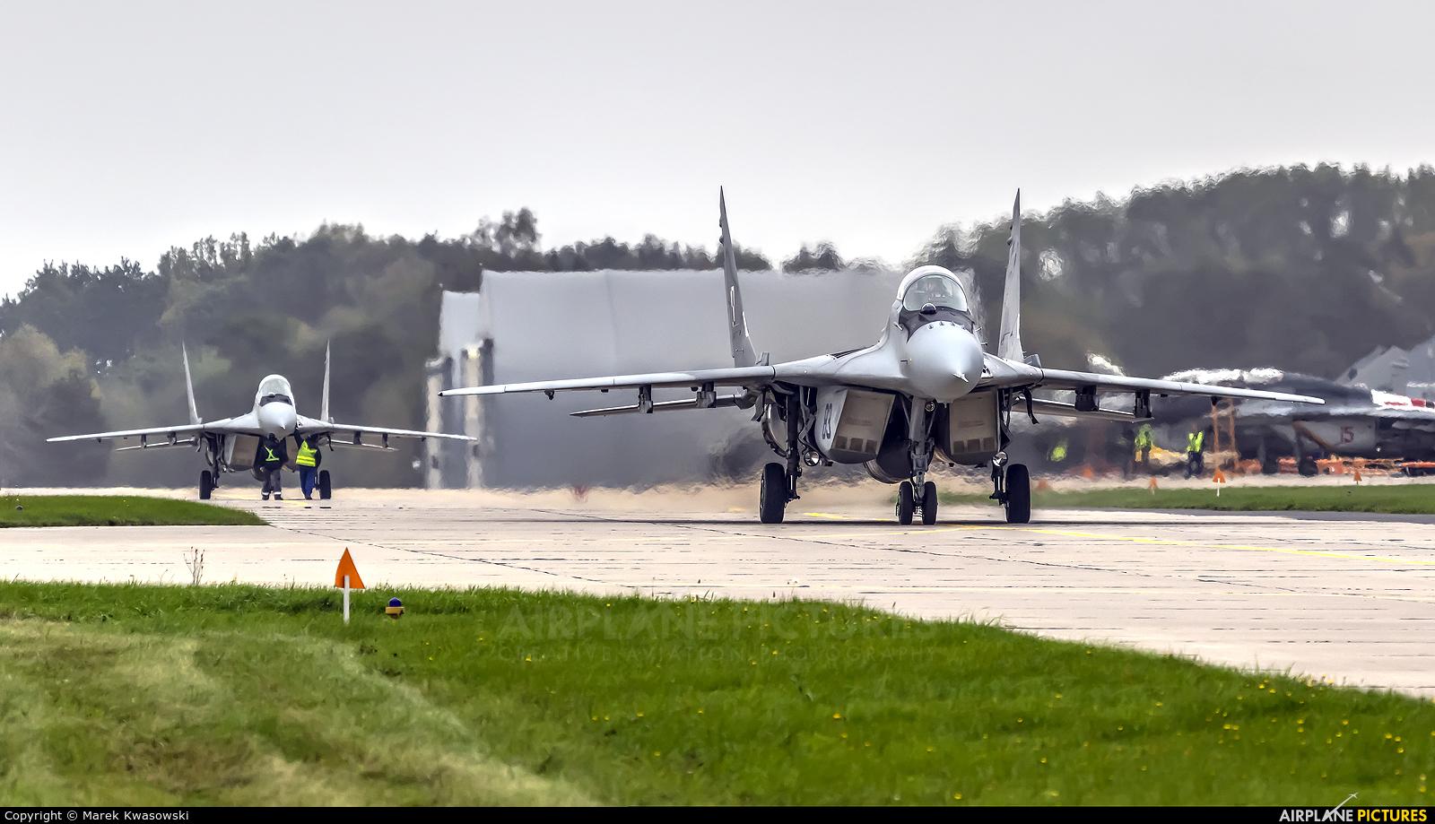 MiG Design Bureau 83 aircraft at Mińsk Mazowiecki