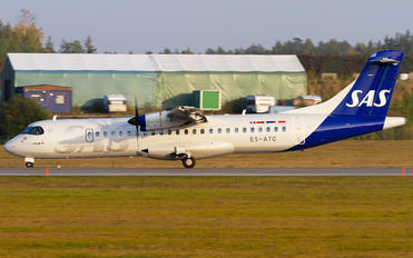 ES-ATC - SAS - Scandinavian Airlines ATR 72 (all models)