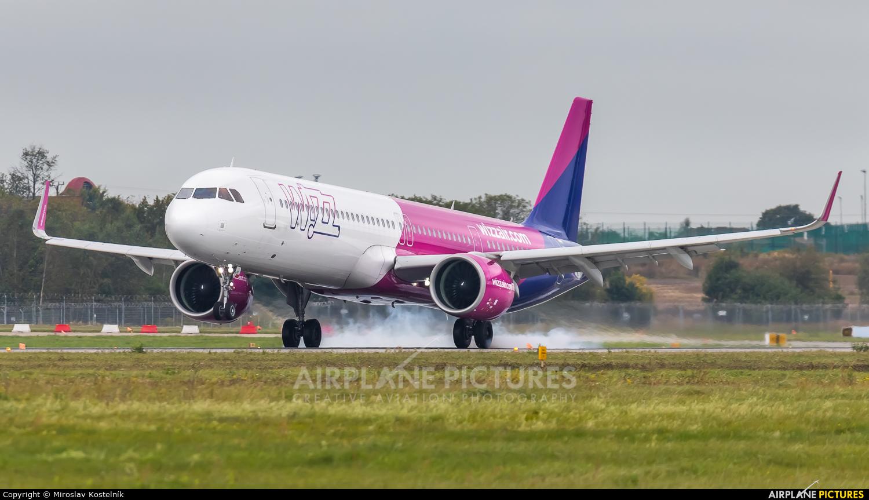 Wizz Air HA-LVG aircraft at Katowice - Pyrzowice