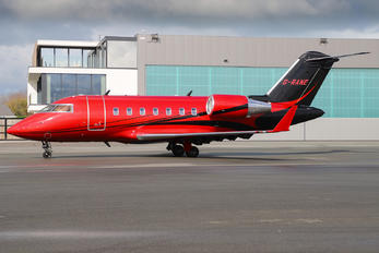 G-RANE - Saxon Air Bombardier CL-600-2B16 Challenger 604