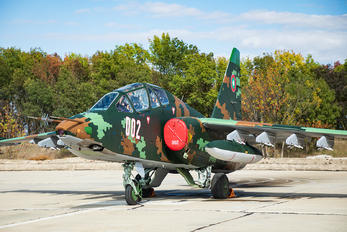 002 - Bulgaria - Air Force Sukhoi Su-25UBK