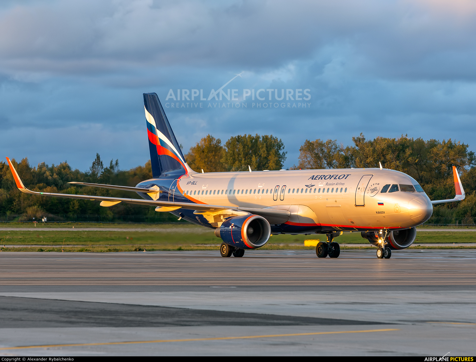 Aeroflot VP-BLL aircraft at Khrabrovo