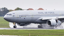 Royal Air Force Airbus A330 Voyager visited Poznań title=