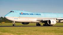 HL7617 - Korean Air Cargo Boeing 747-8F aircraft
